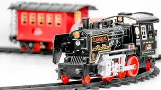 TRAINS FOR CHILDREN VIDEO: Great Railway Classic Steam Train Toys