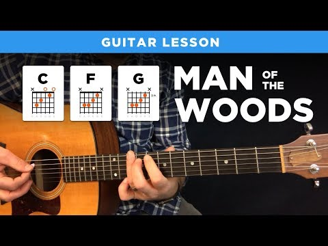 🎸 MAN OF THE WOODS • Justin Timberlake guitar lesson w/ intro tabs & chords