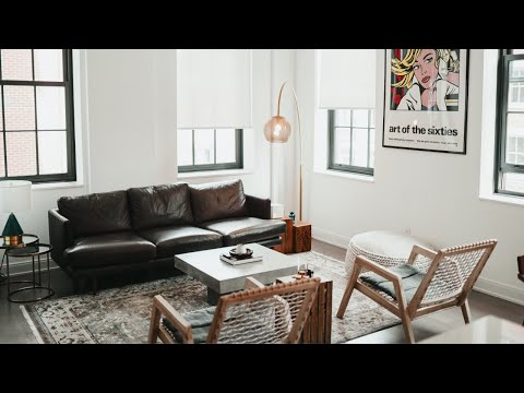 APARTMENT TOUR | Living Room, Kitchen & Dining Room