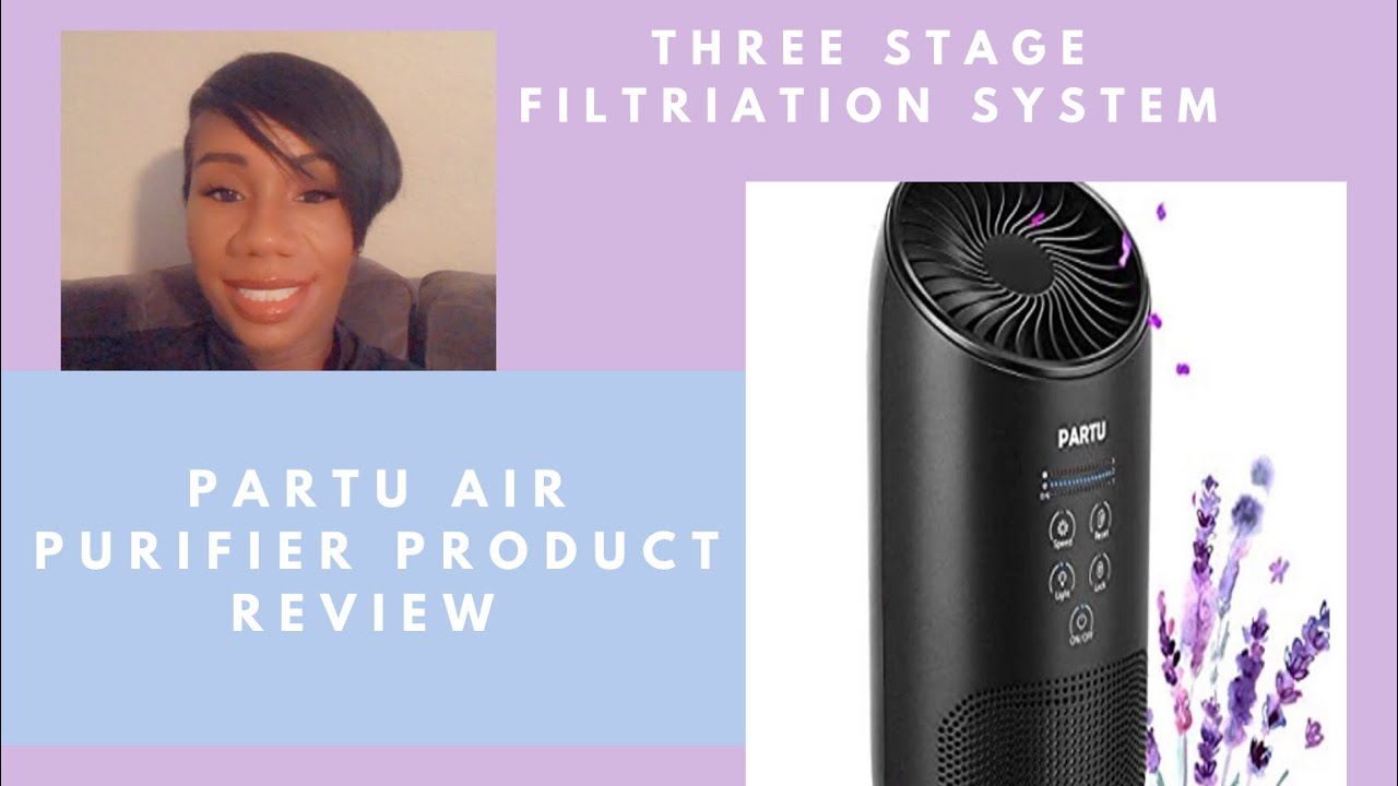 Partu Hepa Air Purifier Product Review - YouTube