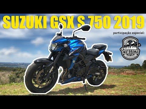 SUZUKI GSX S 750 2019: AVALIAÇÃO DO VRUM E MOTORAMA/ Vrum Brasília