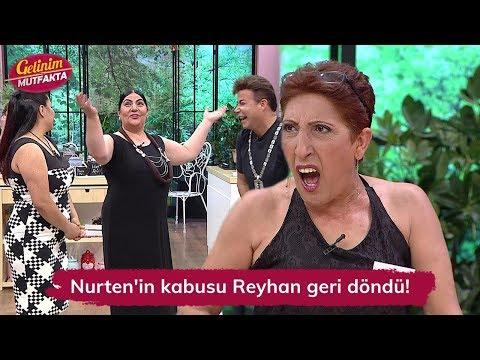 Nurten'in kabusu Reyhan geri döndü! Gelinim Mutfakta 105.  Bölüm