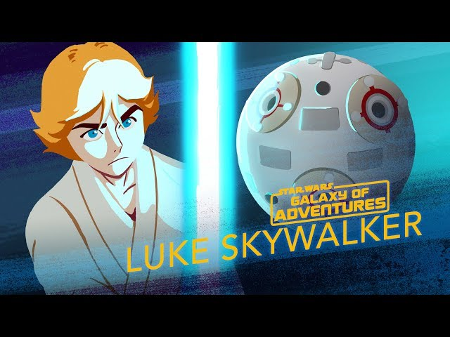 Luke Skywalker - Lightsaber Training | Star Wars Galaxy of Adventures