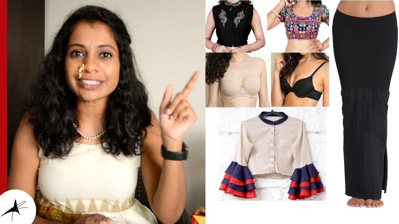 Best Bra For Saree Blouses   Inner Wear For Saree   Arpitharai