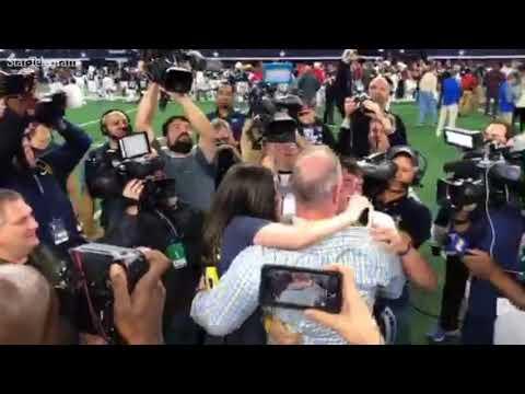 Jones family embraces following Highland Park win