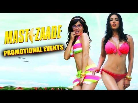 Mastizaade 2016 Movie Promotional Events Sunny Leone Tusshar Kapoor Vir Das