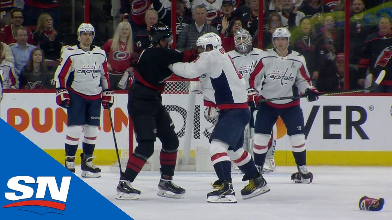In Case You Missed It: Bonus Angles Of Alex Ovechkin Knocking Out Andrei Svechnikov