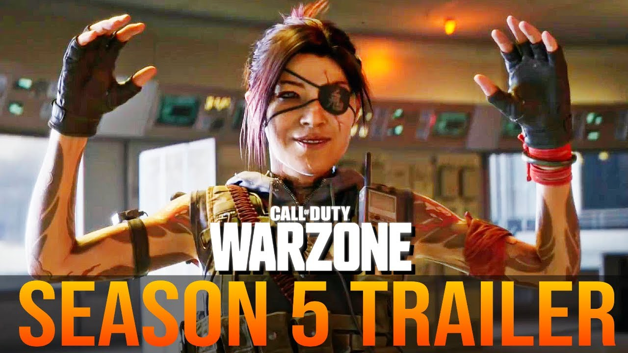 Call of Duty WARZONE: SEASON 5 TRAILER (COLD WAR WARZONE UPDATE)