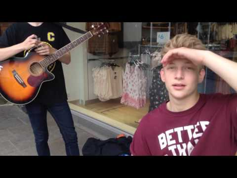 Busking Vlog - Day 24 - Ollie and ?! - Billy Summers Assist
