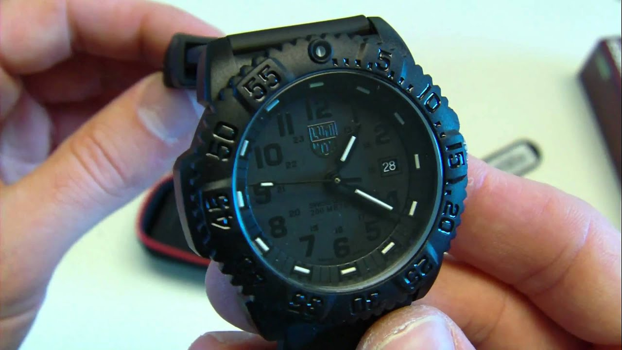 Luminox Battery Replacement