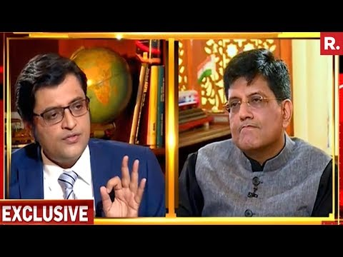 Piyush Goyal On Nation Wants To Know With Arnab Goswami | Exclusive