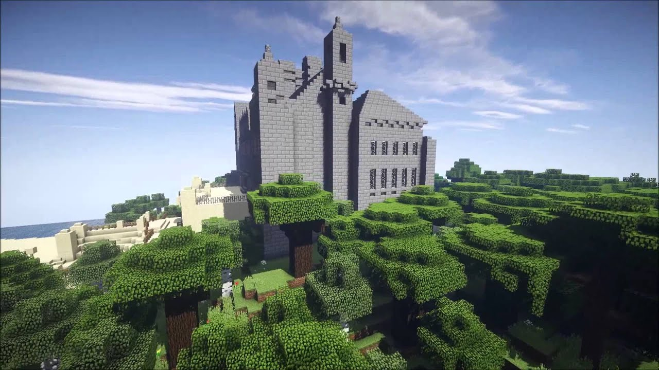 gatsby u0027s mansion in minecraft youtube