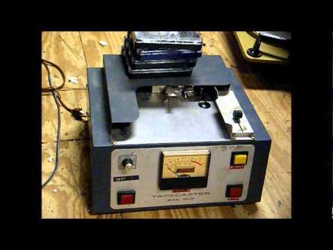 broadcast cart machine
