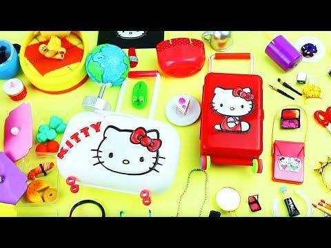 20 DIY Barbie Miniature Purse, Handbag, Bag - 20 Different Styles  - simplekidscrafts