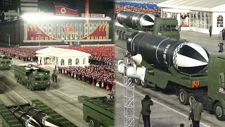 北 열병식 개최…신형 SLBM·전술핵용 미사일 등장 / 연합뉴스TV (YonhapnewsTV)