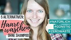 5 Shampoo Alternativen - No Poo | Haare waschen mit Roggenmehl? | Lilies Diary