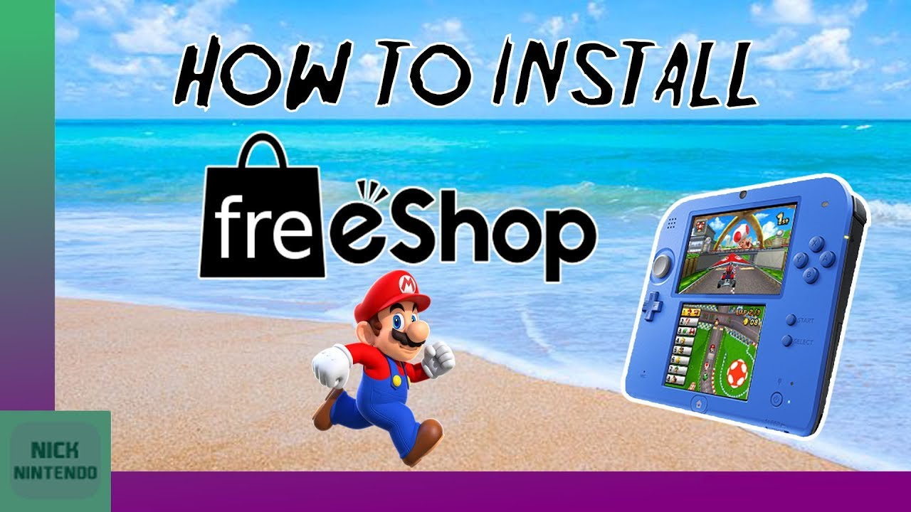How to install Freeshop on 3DS! [2018]