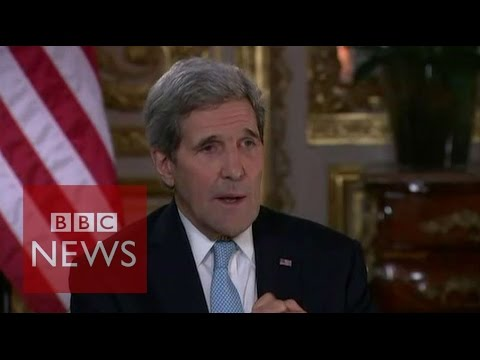 'Russia not committed to Assad' John Kerry - BBC News