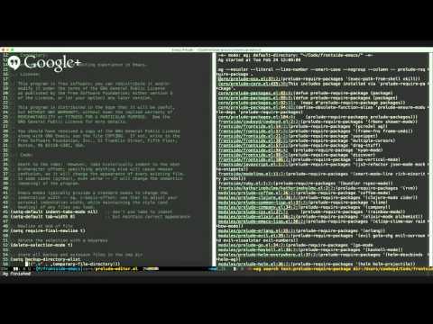 Emacs ATX, March 2015