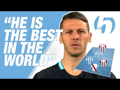 MESSI THE BEST IN THE WORLD! | Martin Demichelis' Fantasy 5-a-side Team