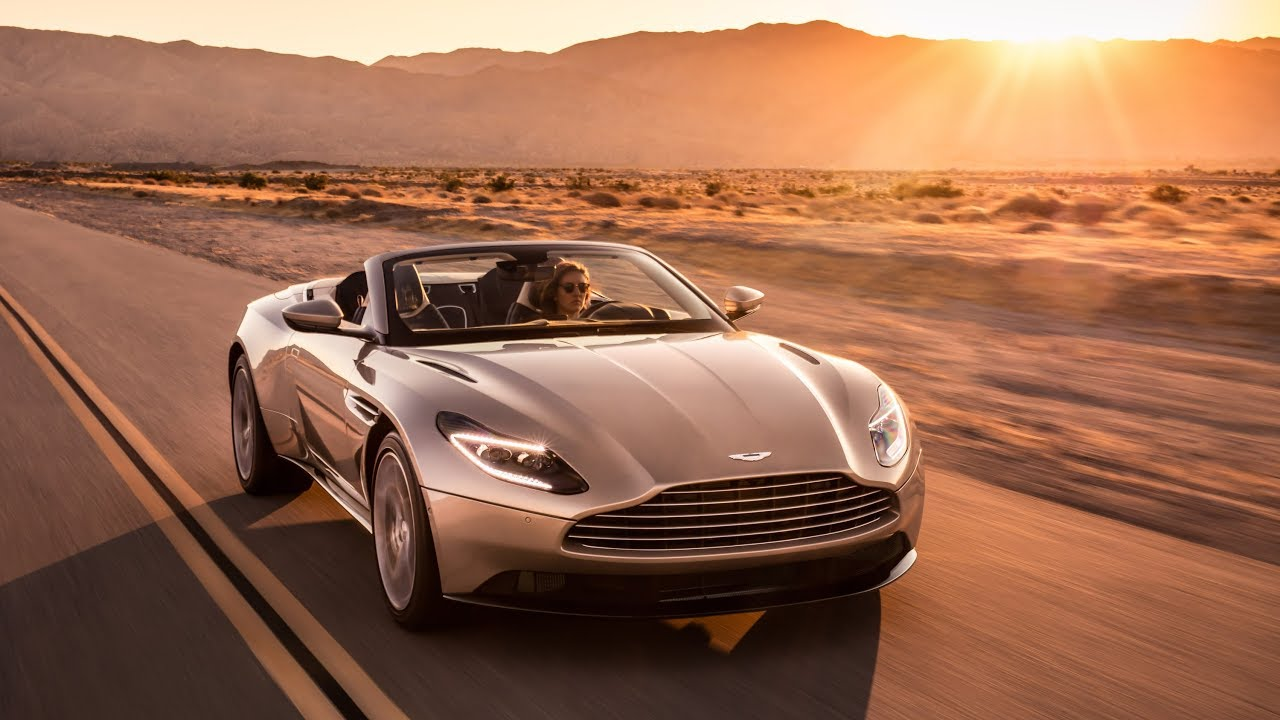 Aston Martin DB11 Volante - Beautiful is a World Above