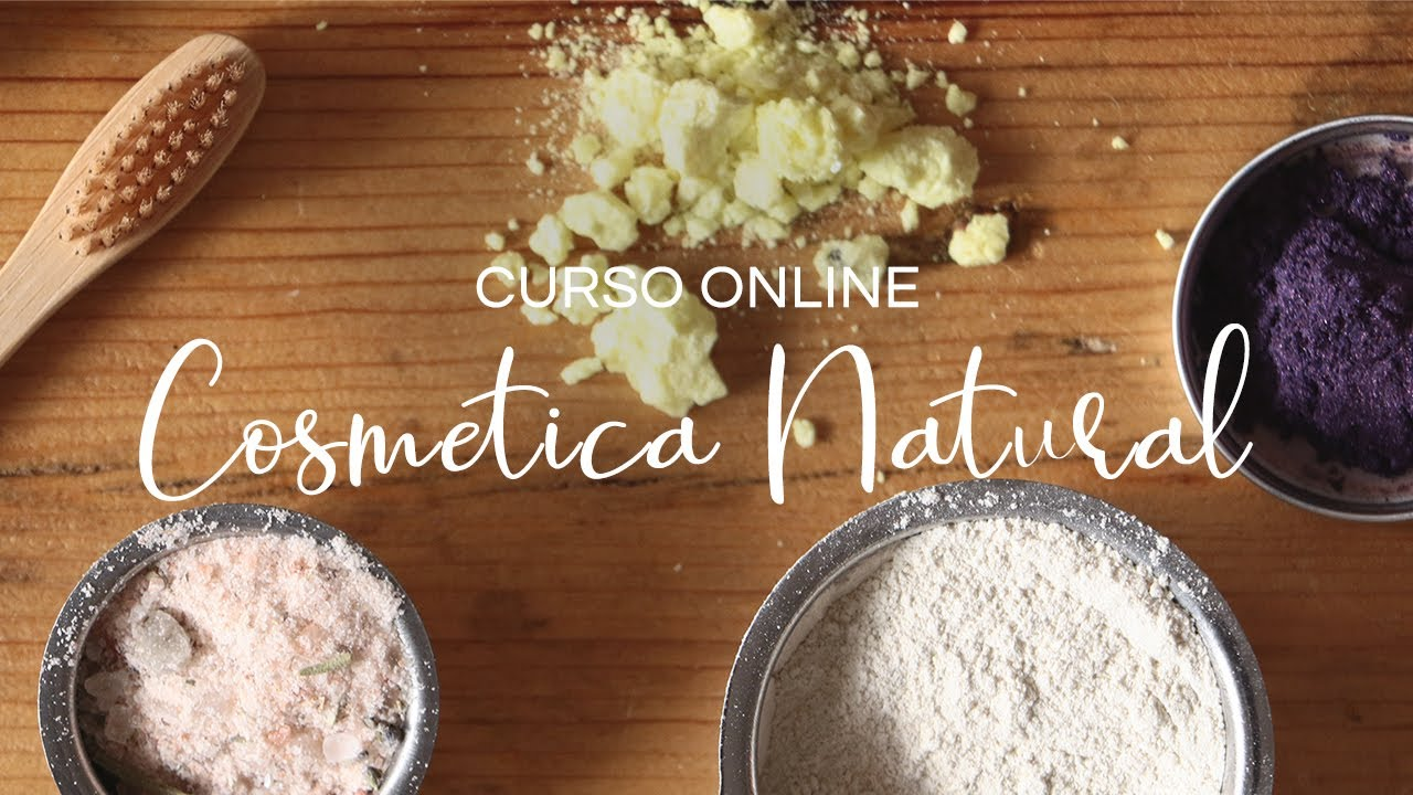 Curso de cosmética natural online