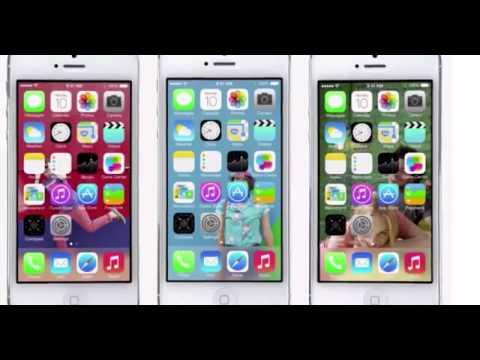Apple iOS 7 WWDC Video Demo with John Ive