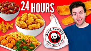 I only ate PANDA EXPRESS for 24 HOURS CHALLENGE!