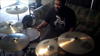 Wale - LoveHate Thing (Drum Cover)