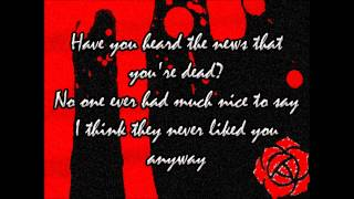 Dead! - My Chemical Romance Lyrics + HQ Download Link