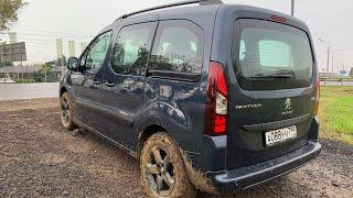 Взял Peugeot Partner Crossway - по полю попрыгал, грязь помесил, по трассе втопил! / Партнер 2021