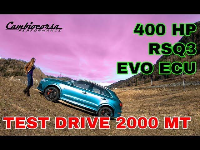 200 CHILOMETRI CON UN PIENO?! - AUDI RSQ3 400 HP - DARE N DRIVE