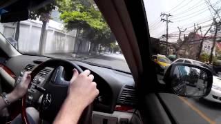 Driving in Bangkok