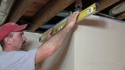 How To Install A Suspended or Drop Ceiling