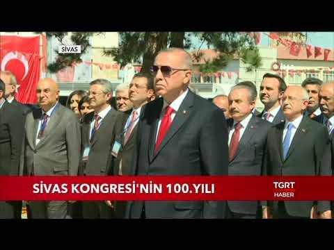 Cumhurbaşkanı Erdoğan, Sivas Kongresi'nin 100. Yılı Kutlamalarına Katıldı