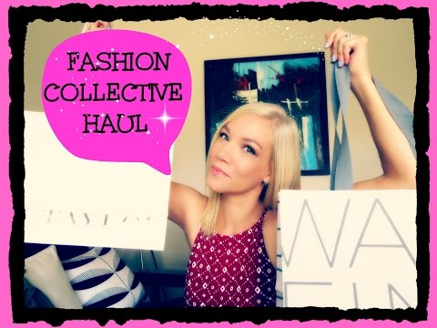 FASHION COLLECTIVE HAUL! - Clothing, Shoes, Accessories