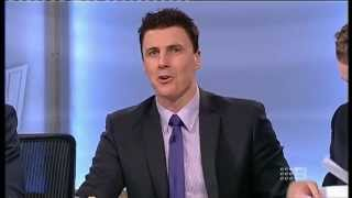 The Sunday Footy Show AFL (2013) - John Longmire does a Mike Sheahan