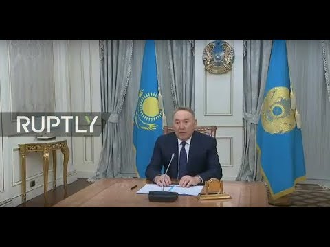 REFEED: Kazakh president Nursultan Nazarbayev resigns after almost 30 years in power