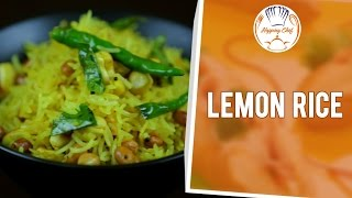 How To Make Lemon Rice By Chef Michael || Ganpati Special || Hopping Chef