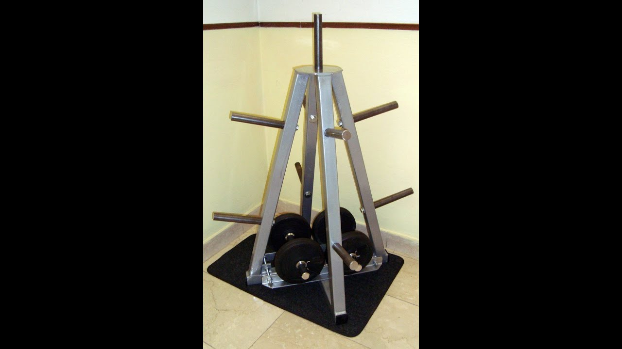 Weight rack porta pesi fai da te a piramide youtube - Porta dvd fai da te ...