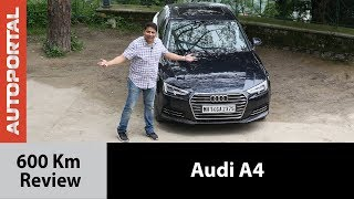 Audi A4 - 600km Test Drive Review - Autoportal