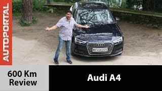 Audi A4 - 600km Test Drive Review - Autoportal