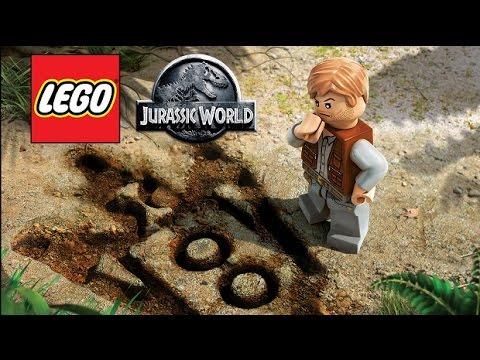 LEGO Jurassic World Pelicula Completa Español - Todas Las Cinematicas - 1080p - Game Movie