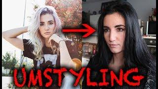 Drastische Style änderung bei Jodie Calussi! Haare Färben von hell auf dunkel | Michael Adrian