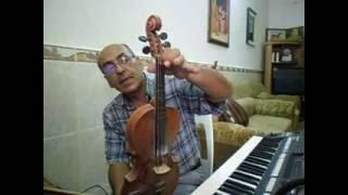 دورة تعليم الكمان الدرس الثالث