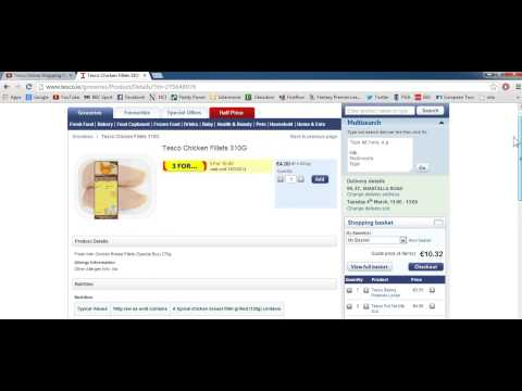 e-Shopping Tutorial: Tesco Online