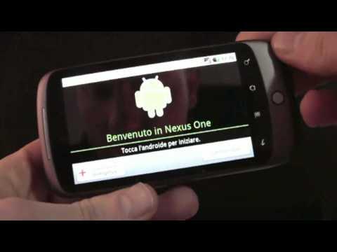 Google Nexus One Unboxing e prime impressioni