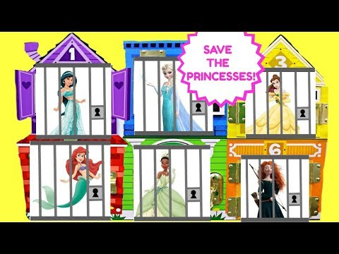 Disney Princesses Belle Tiana Elsa Jasmine Ariel Merida Princess Toys