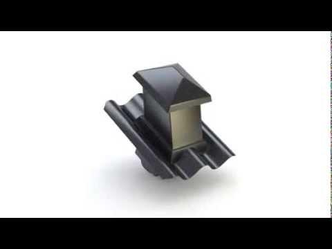 Populære Cembrit B7 Taghaette 360 Rotation - YouTube ZZ-01