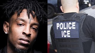 BREAKING:The Feds ARREST 21 Savage In Atlanta!!